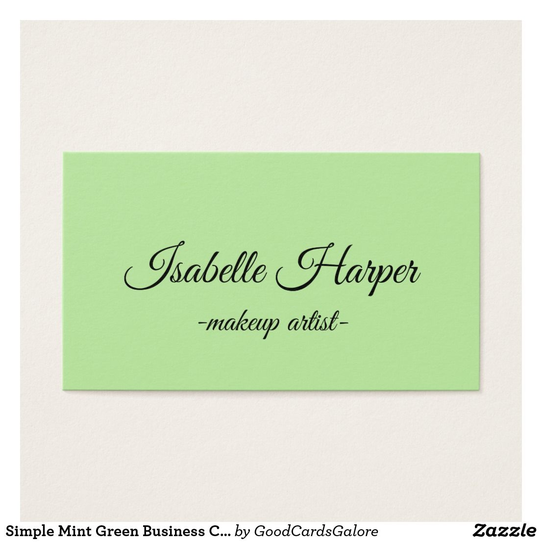 Mint Green Business Cards Image Collections Card Design And Card
