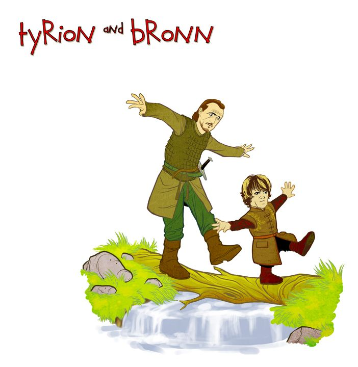 Group Of Bronn Calvin And Hobbes