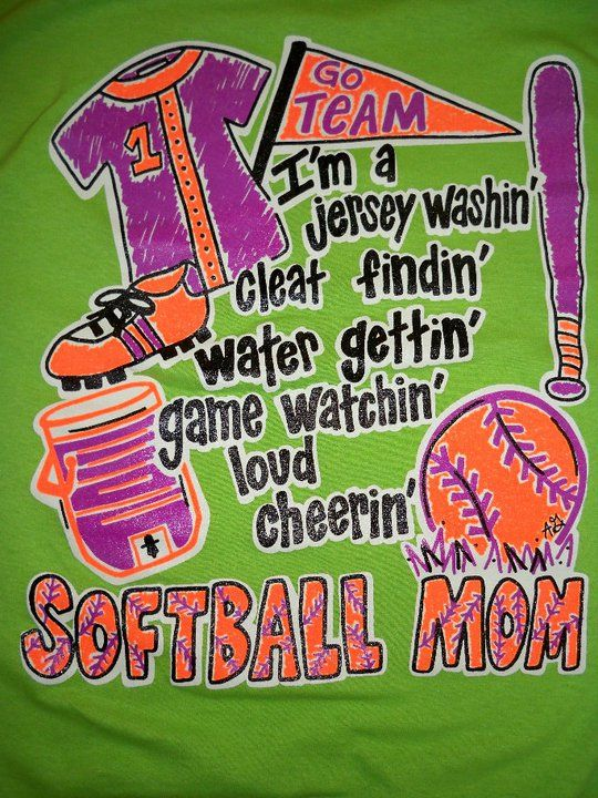 2cb3bb6a Softball Mom. I so want this! @Crystal Bledsoe Can y'all get this ...