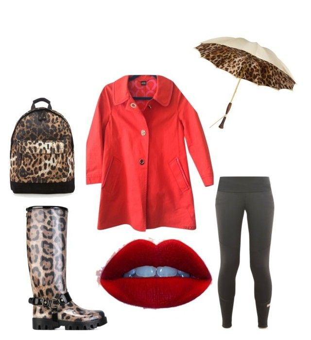"""""""Leopard wet day!!"""" by ladyp81 on Polyvore"""