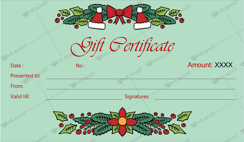 Pin On Gift Certificate Templates