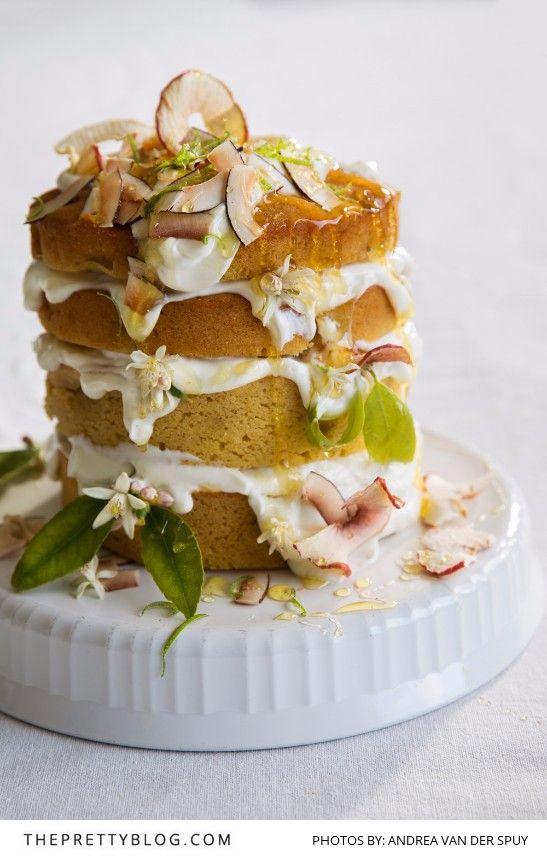 Yogurt Honey Lemon Cake