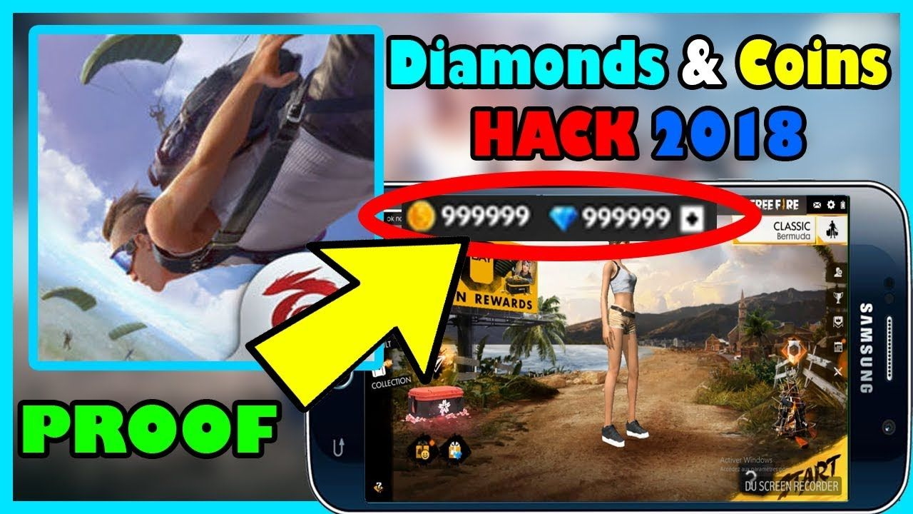 Garena Free Fire Hack - Free Diamonds and Coins (live proof) Garena