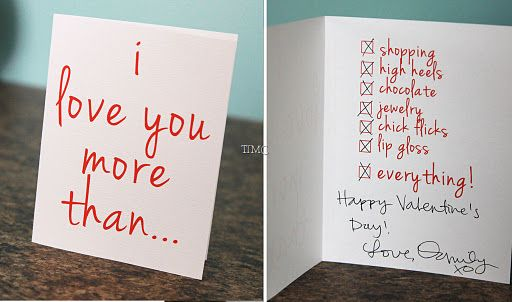 Things I Love With Images Valentine Day Cards Valentines Diy