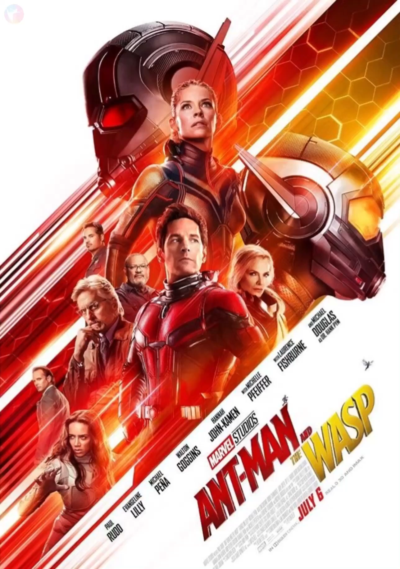 AntMan and the Wasp animated poster! Wasp movie, Antman