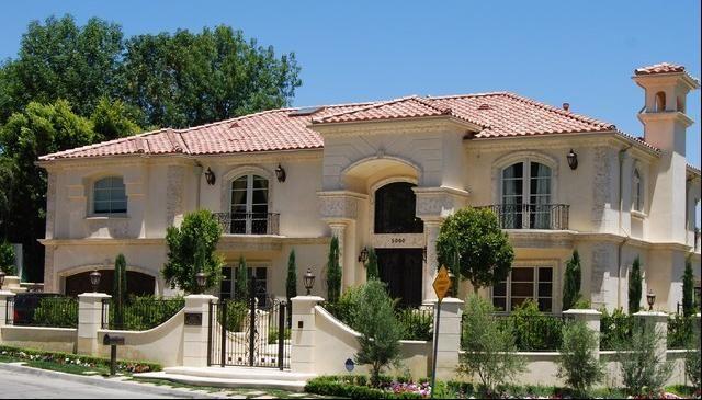 Fachadas casas modernas fachadas de casas californianas for Mansiones modernas