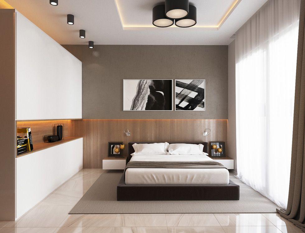 Camera Da Letto Moderna Marrone : Illuminazione camera da letto u guida idee per un ambiente