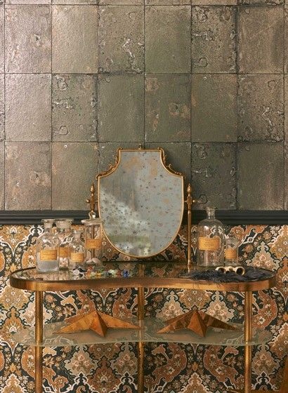 Shabby Chic Tapete shabby chic tapete antique mirror cole 2770 shabby