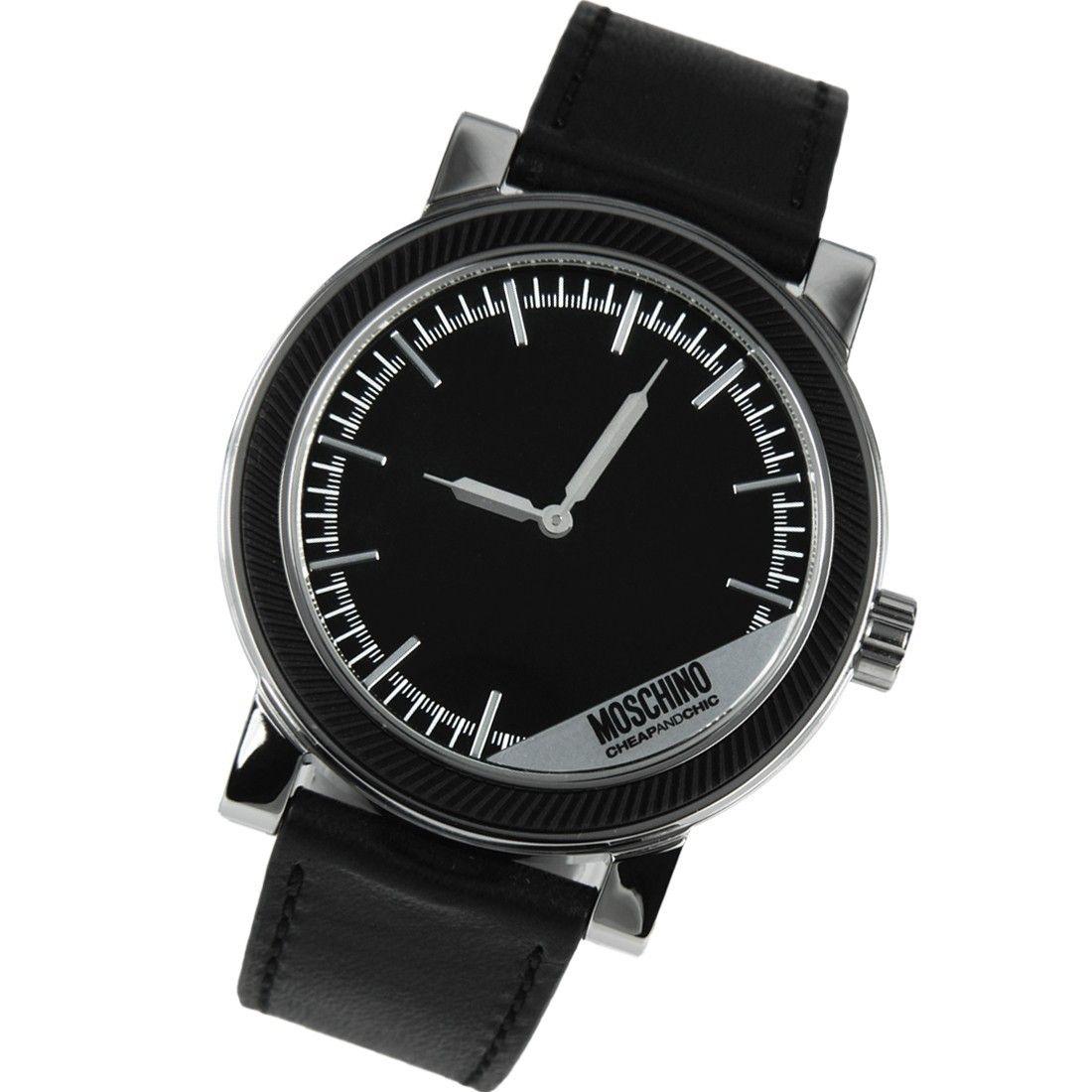 ac605a64ee6 Moschino Quartz Cheap and Chic Unit Square Watch MW0275 | low price | Square  watch, Moschino, Watches