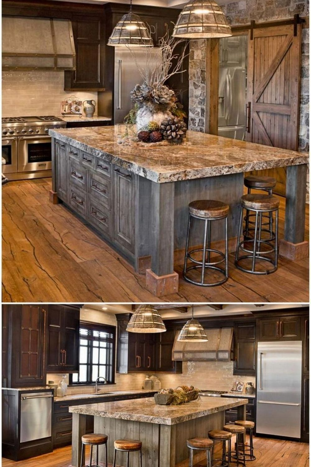 Barn House Kitchen And Great Room Kitchen Room Design Open