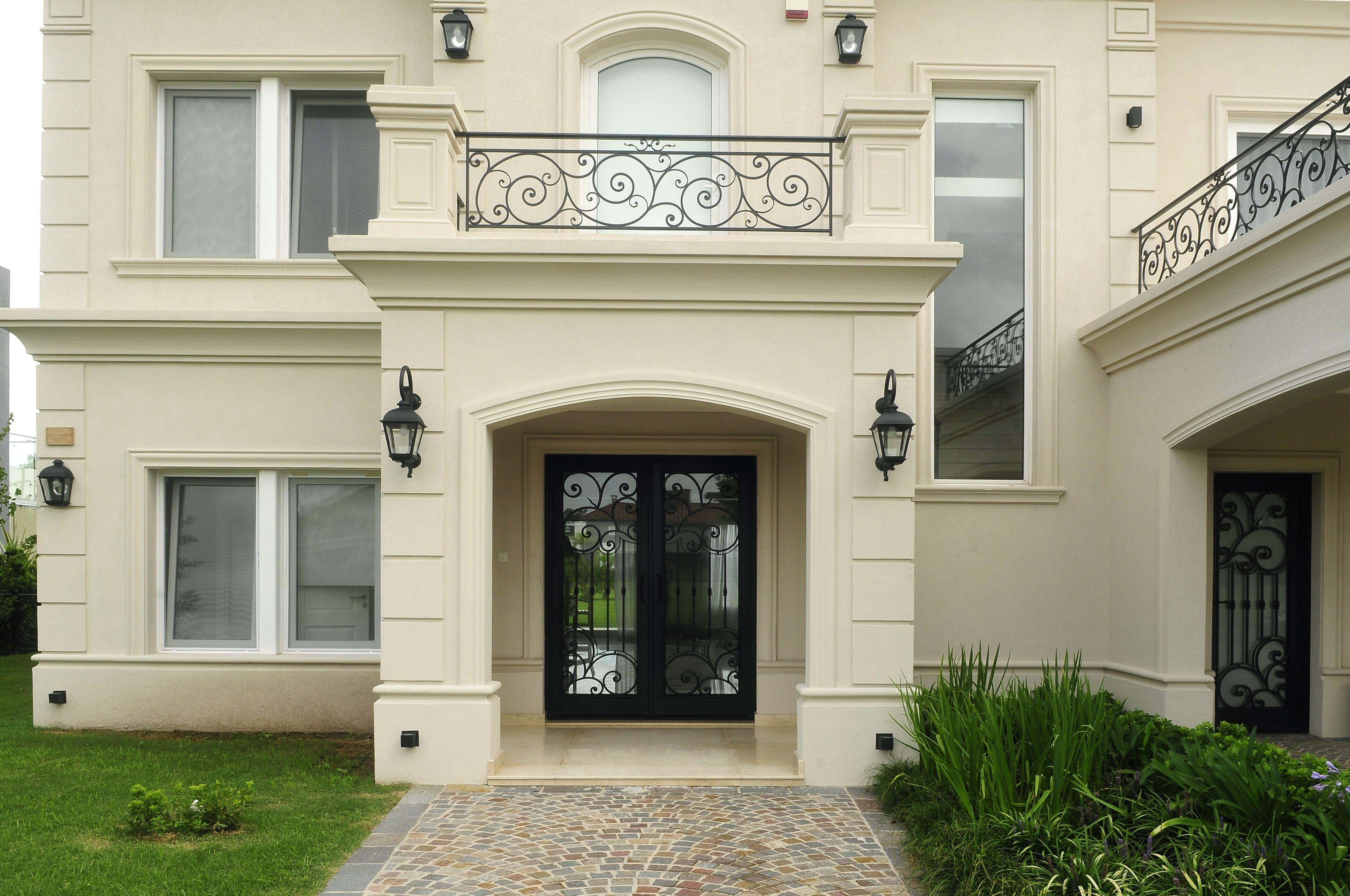 Obra fernandez borda arquitectura puerta de hierro - Fachadas de casas clasicas ...