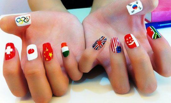 London Olympics 2012 Nail Art Designs Supplies Stickers 17