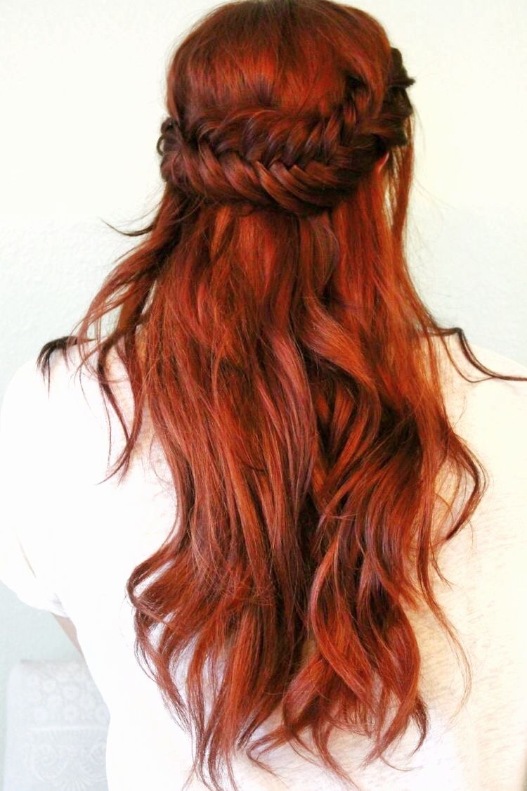 Big Fan Of This Vibrant Copper Red Hue Hair Redhead Ginger Henna