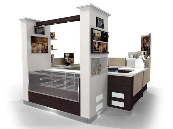 Kiosk designs by tina marie lane via behance exhibitor for Garden kiosk designs