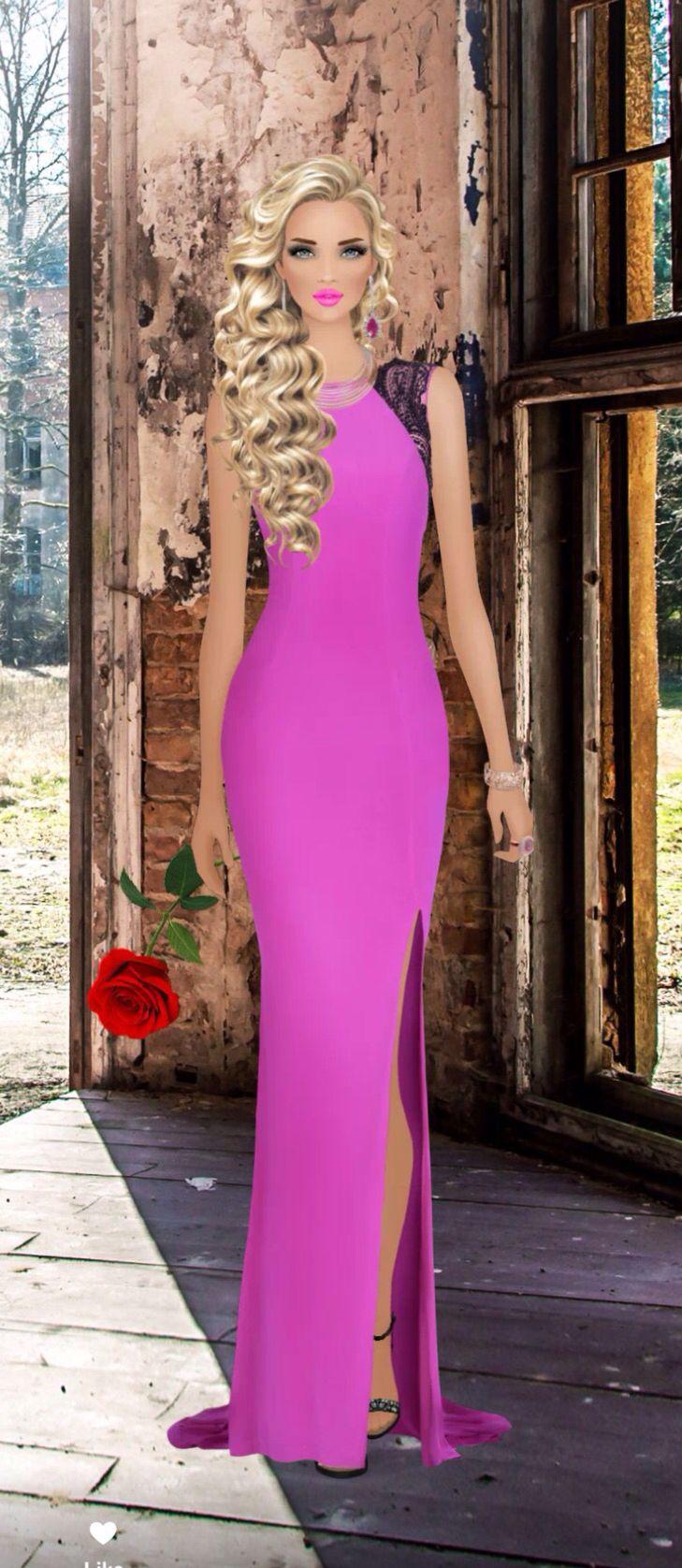 Rose Ceremony | طراحی لباس | Pinterest