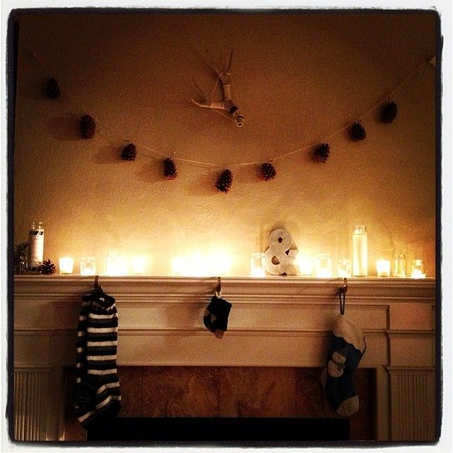Merchant Method Home for the Holidays Inspiration Fireplace