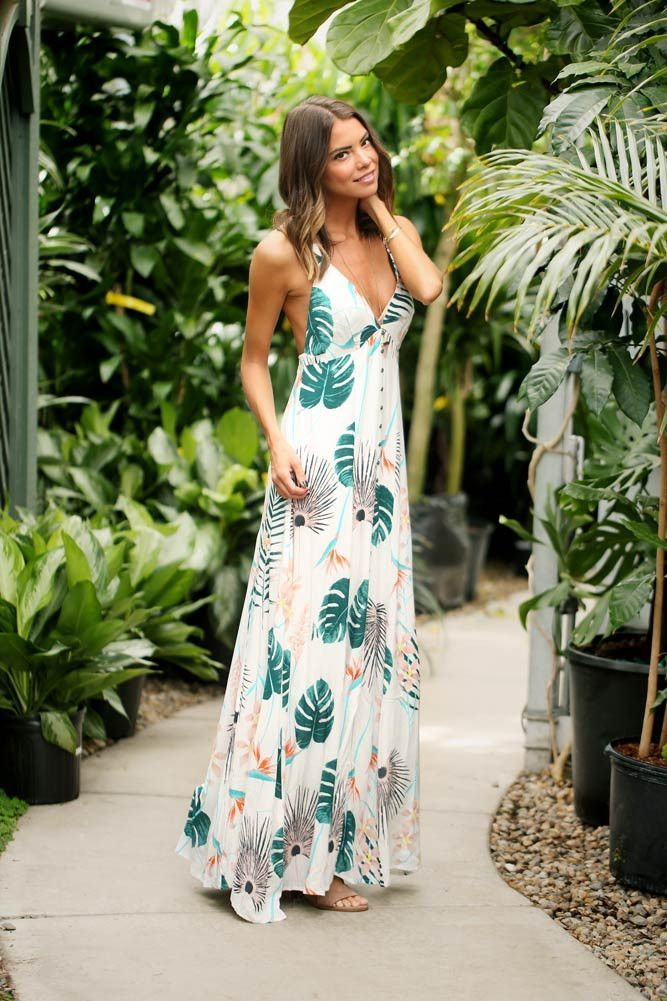 tropical chique kleding