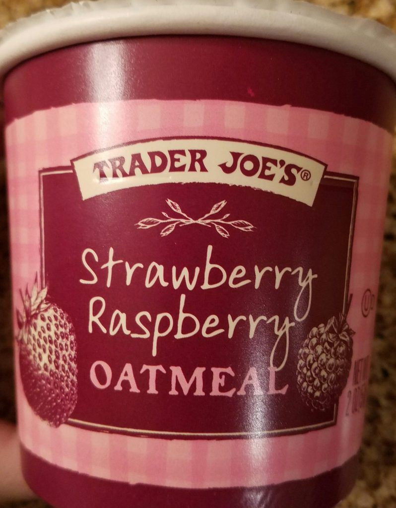 Trader Joe's Strawberry Raspberry Oatmeal Trader joes