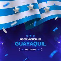 Independencia de guayaquil realista | Vector Gratis