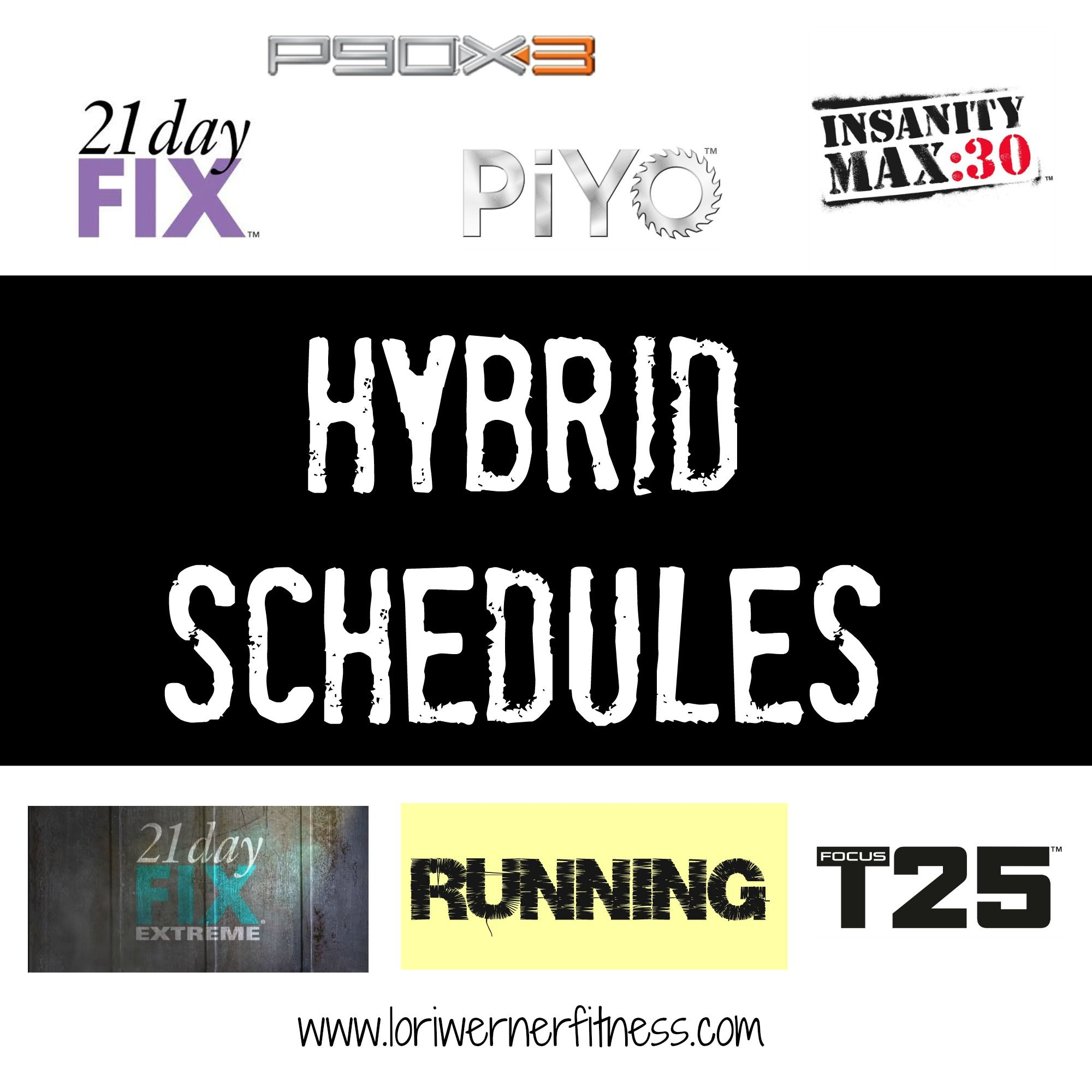 Insanity Workout T25: Beachbody Hybrid Workout Schedules: Looking To Change Up