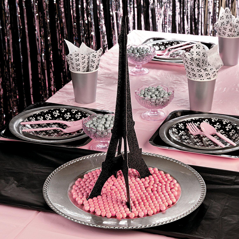 Eiffel Tower Centerpiece, Centerpieces, Party Decorations, Party Supplies -  Oriental Trading - Eiffel Tower Centerpiece, Centerpieces, Party Decorations, Party