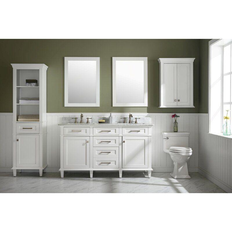 Malcom 60 Double Bathroom Vanity Set Bathroom Vanity Double Bathroom Vanity Single Bathroom Vanity Bathroom vanity and cabinet set