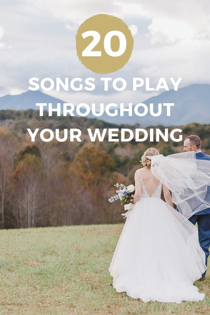 Perfect Songs To Play For The Ceremony First Dance Parent Dances Reception C In 2020 Wedding Ceremony Entrance Songs Wedding Entrance Songs Wedding Dance Songs