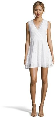 Romeo & Juliet Couture  Lace Pleated Dress