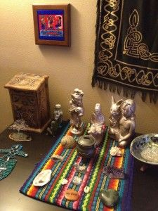 Create your own sacred womb altar and rituals  | Period
