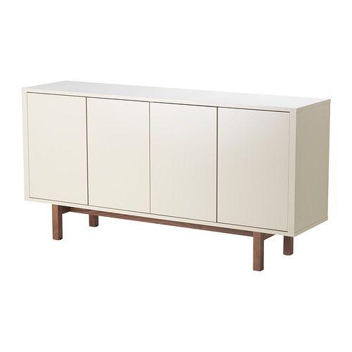STOCKHOLM Skjenk IKEA Trykk-åpne-beslag gir skjenken et stilrent utseende, siden det ikke trengs håndtak eller knotter.