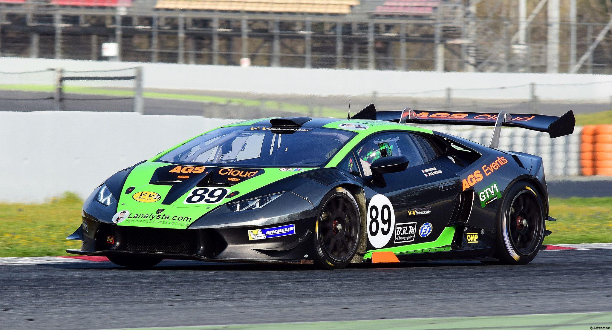 Lamborghini Huracan Super Trofeo Nicolas Gomar Fra Joseph