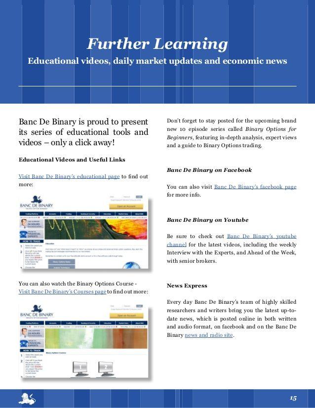 Us based binary option trading strategies books