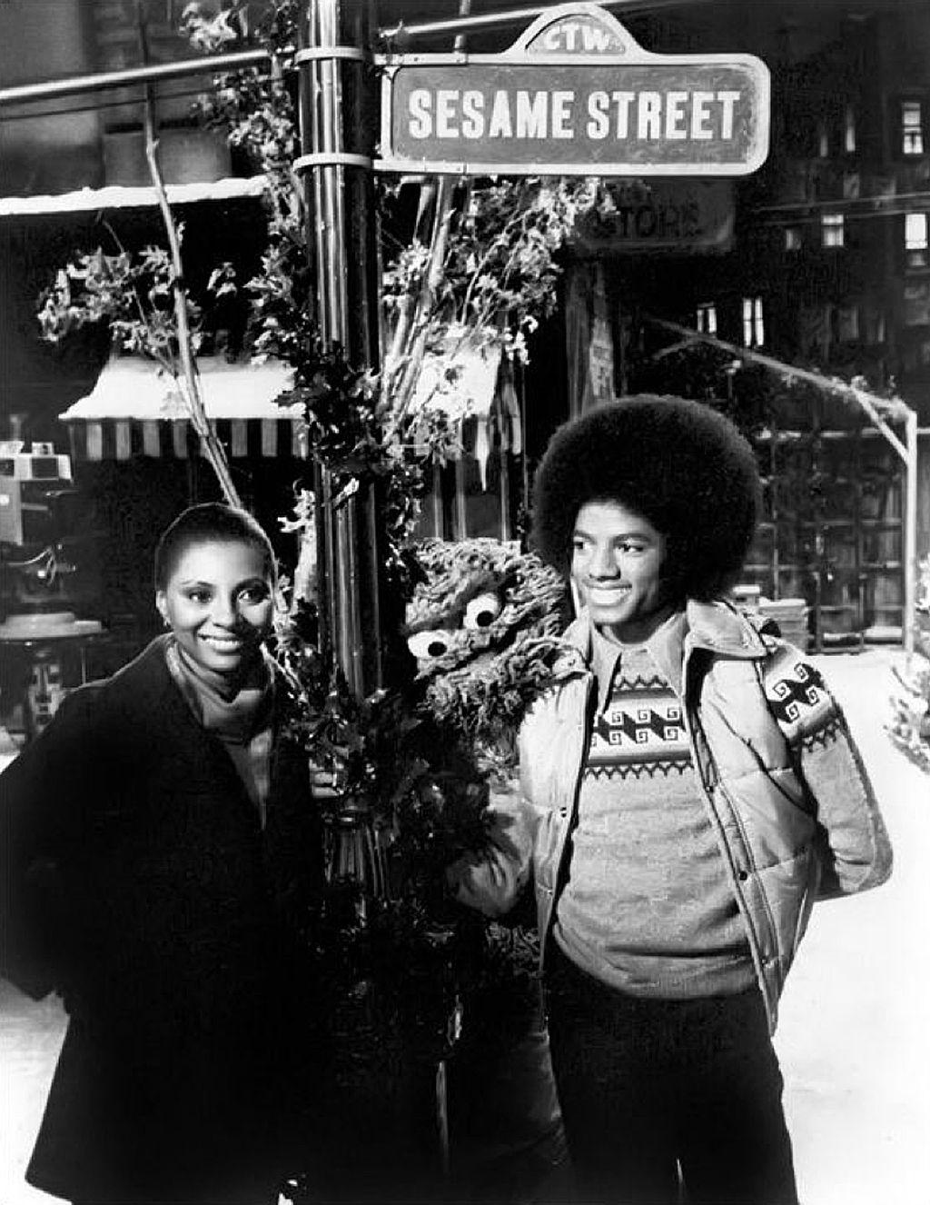 Leslie Uggams, Oscar Michael Jackson in A Special Sesame Street ...