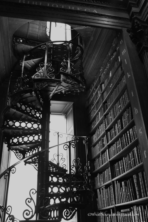 trinity college old library photo escape college ornate staircases at the trinity college library