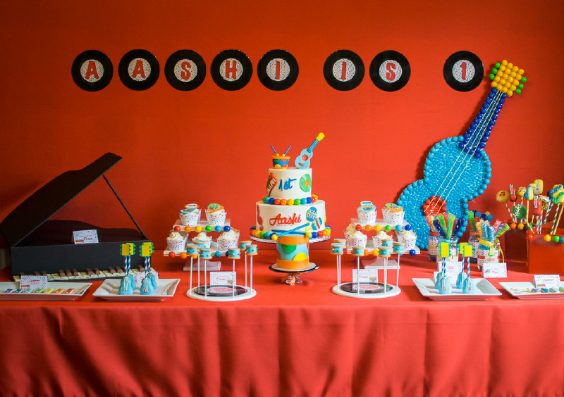 Baby Jam Music Inspired 1st Birthday Party Music themed