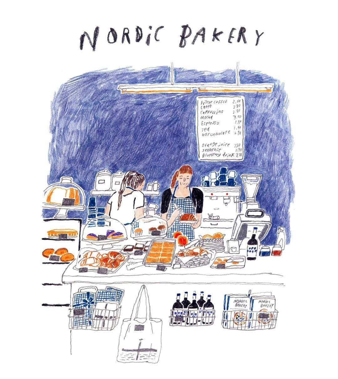 nordic bakery in LONDON instagram.com/moreparsley