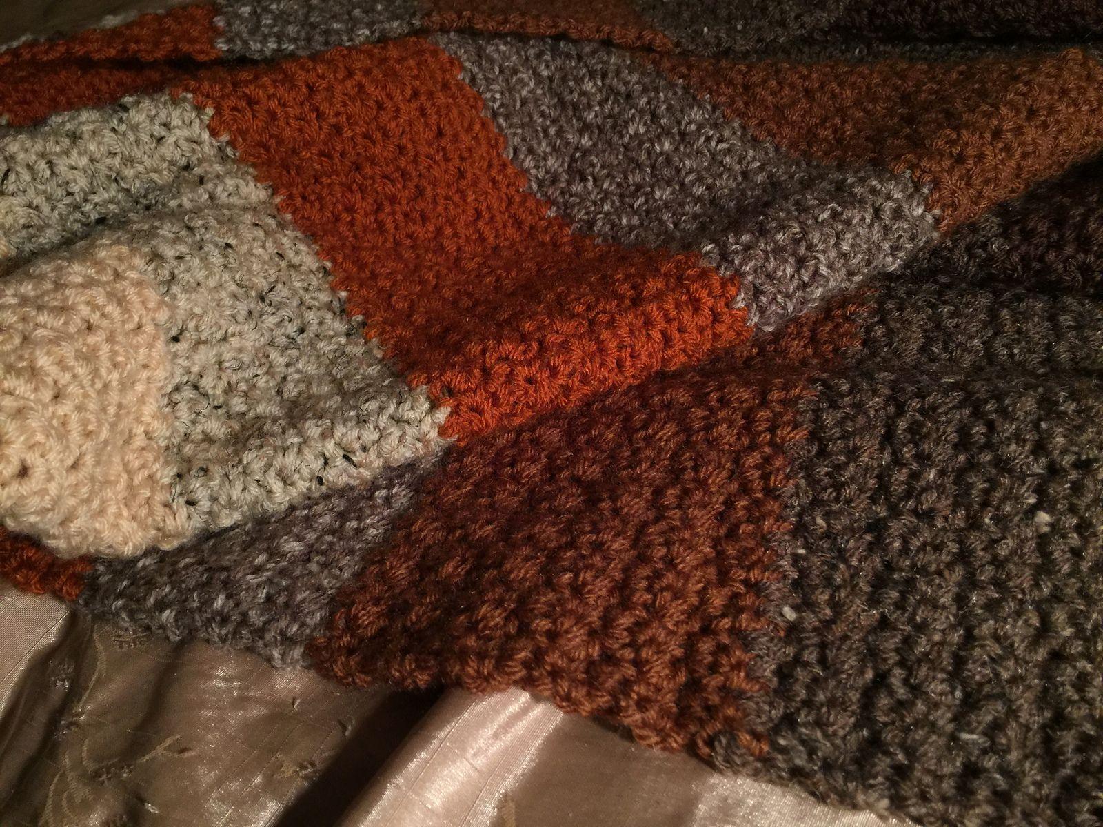 Ravelry: Easy Texture Lap Blanket pattern by Elaine W. | Ideas ...