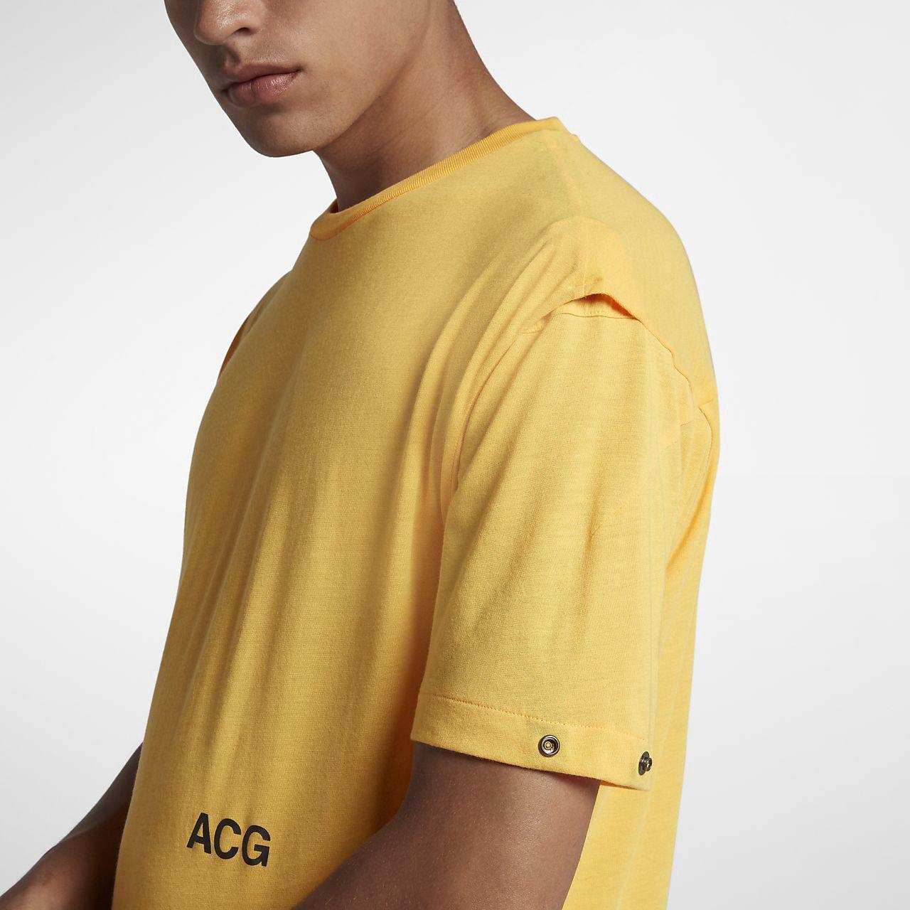 2328c603 Nike Lab Acg Variable Men's T-Shirt - XL Orange | Products
