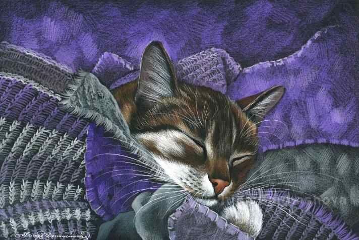 Artist Irina Garmashova.