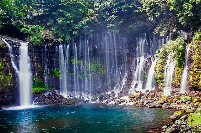 Shiraito Falls |  Mt. Fuji area | Japan