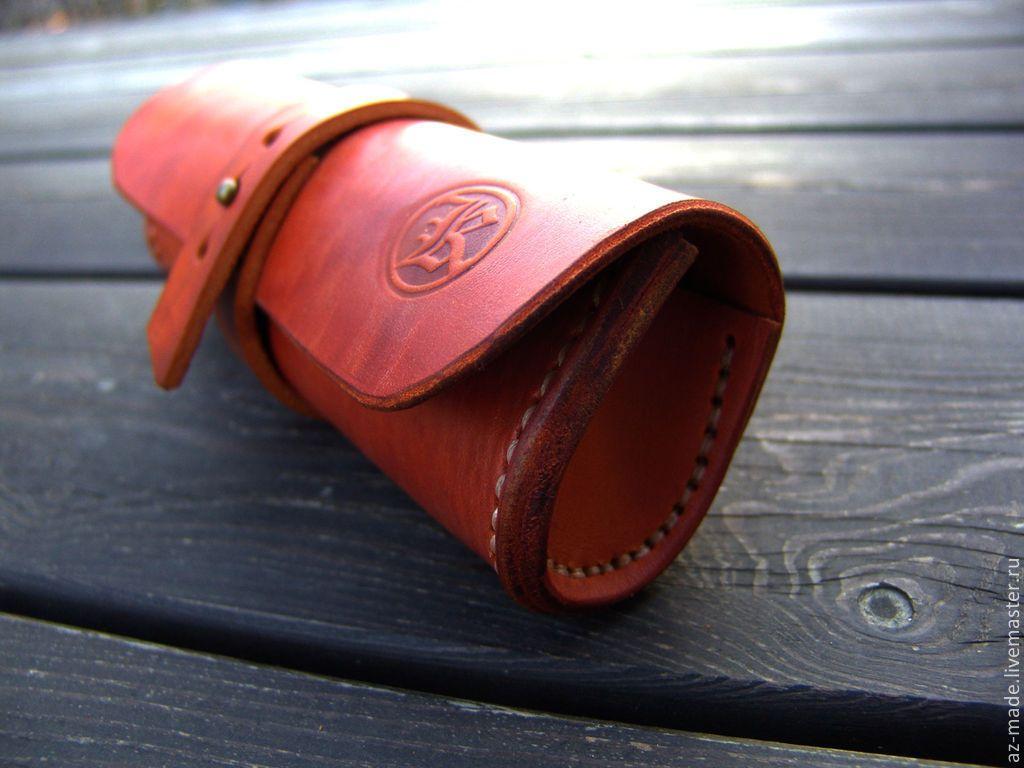 280ce7556ef0 Футляры, очечники ручной работы. Футляр для очков. Handy Beast Leather.  Интернет-магазин Ярмарка Мастеров. Кейс, кожаный футляр