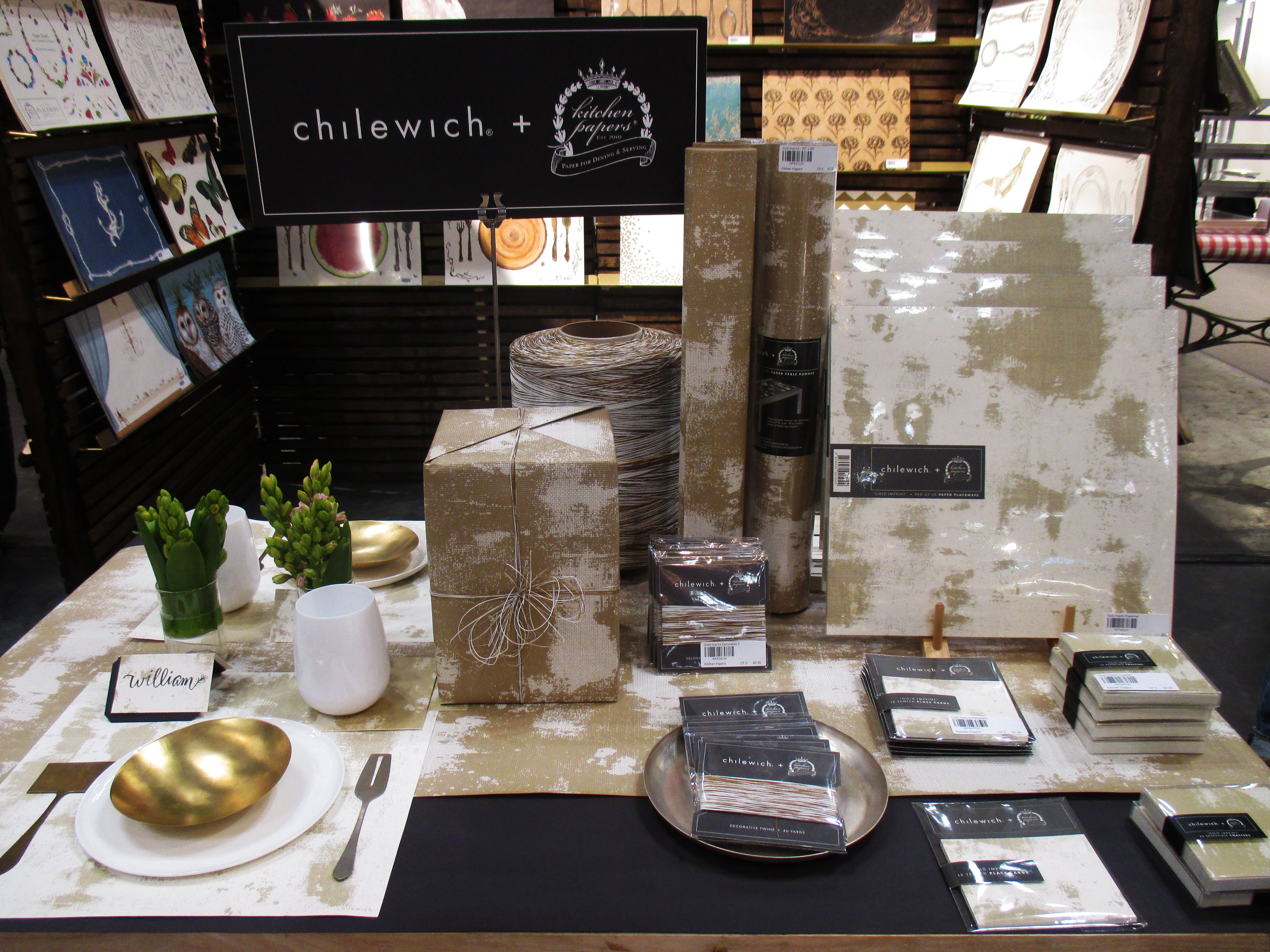 CHILEWICH KITCHEN PAPERS COLLECTION