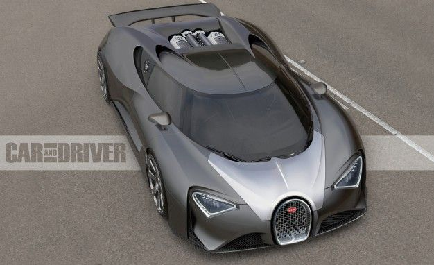 Bugatti Chiron: The 1500-hp $2.5-Million Veyron Successors Name Debut Are Official