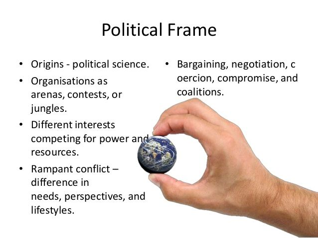 The political frame highlights how problems can arise when power - force field analysis template