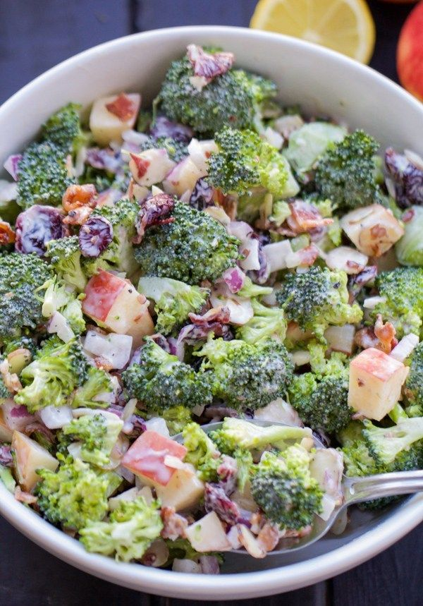 Cranberry Almond Broccoli Salad - Two Sisters Kitchens ...