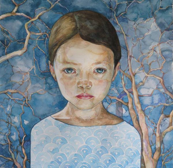 watercolor paintingsdunja jung  ego  alterego  art