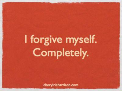 Stop punishing yourself ☥