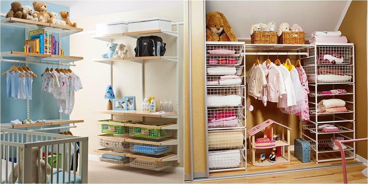 Organizar armarios de ni os y beb s armario de ni a for Organizar espacios pequenos