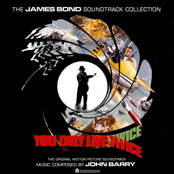 You Only Live Twice Original Movie Soundtrack By Doghollywood