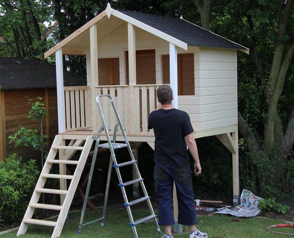 Projekt Leonie S Stelzenhaus Teil 3 Fast Ist Es Fertig Garten
